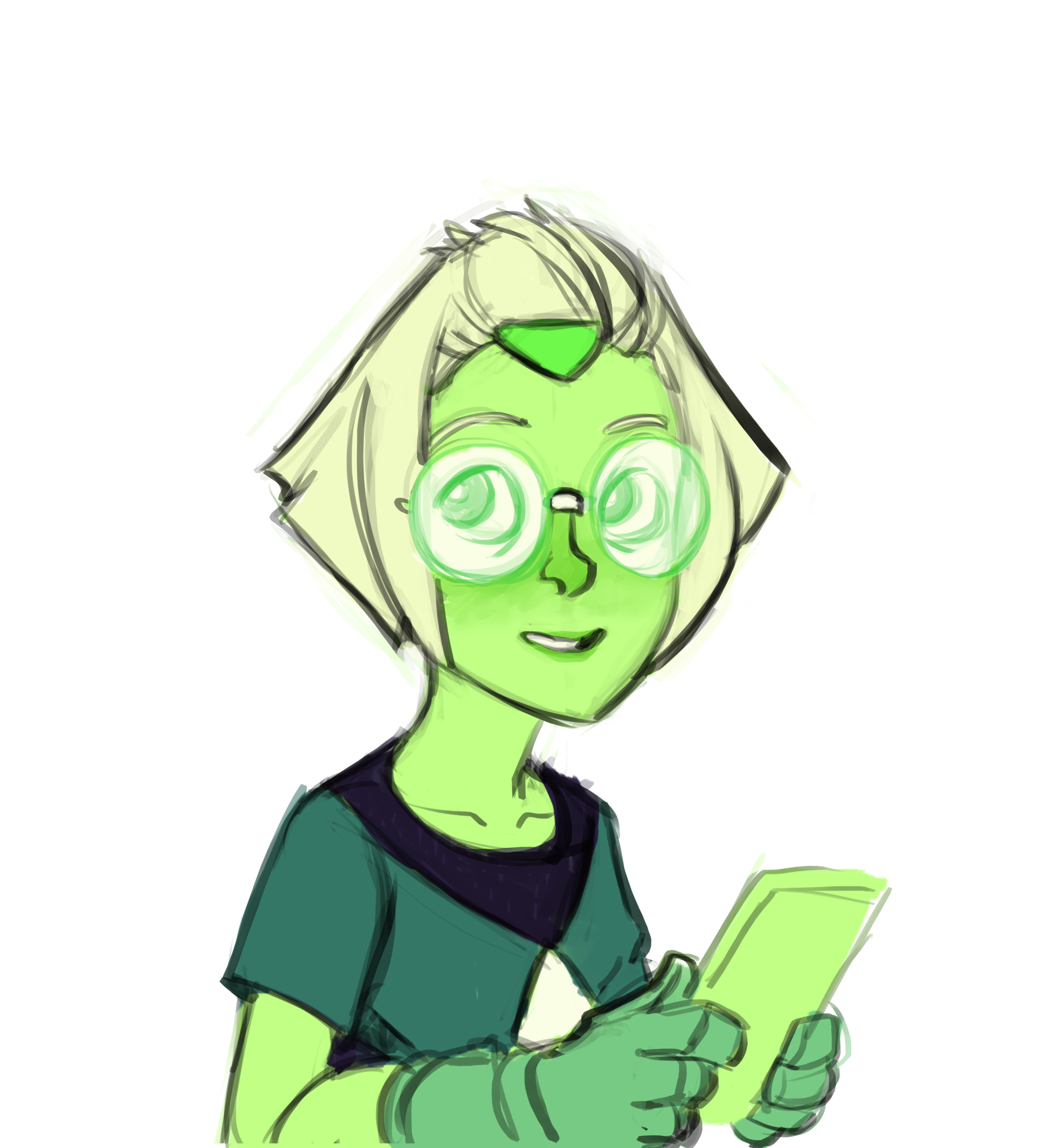 Peridot color