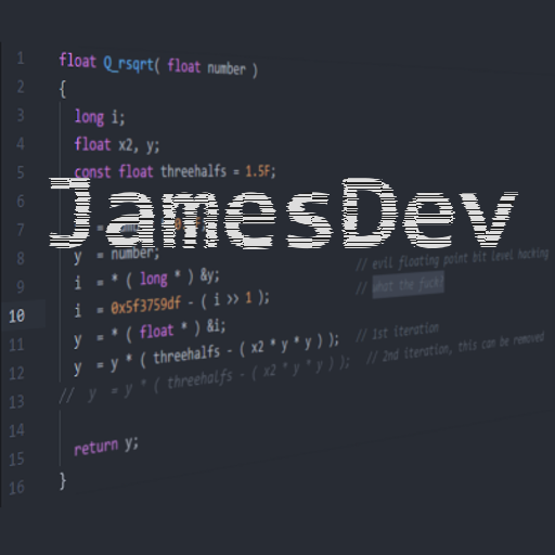 Jamesdev profile